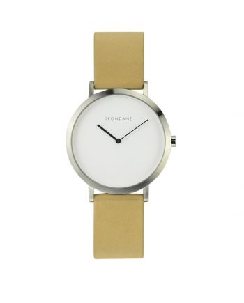 The-Brushed-Silver-with-Natural-Strap