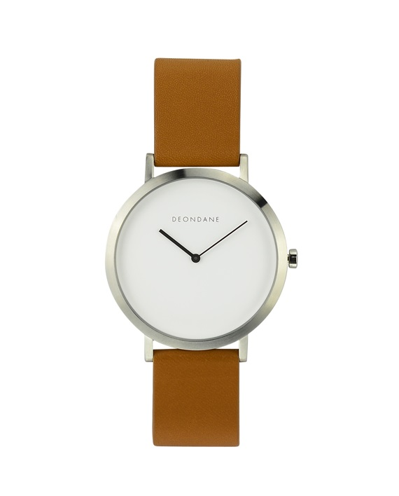 The-Brushed-Silver-with-Tan-Strap
