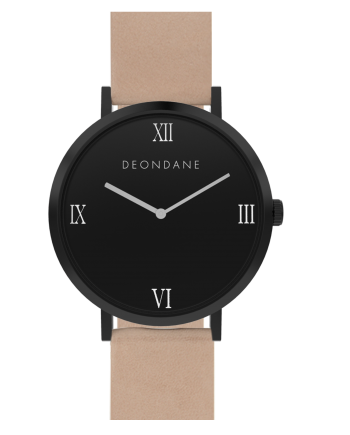 The Black Natural On Tan Deon Dane Watch