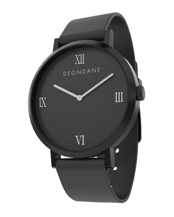 The Black Numeral Deon Dane Watch