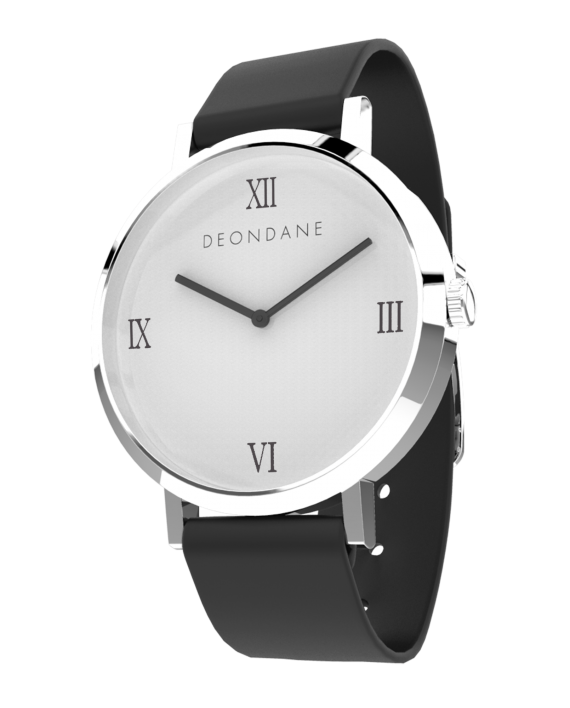 The Silver Numeral Watch