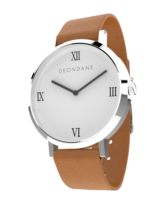 The Silver Numeral On Tan