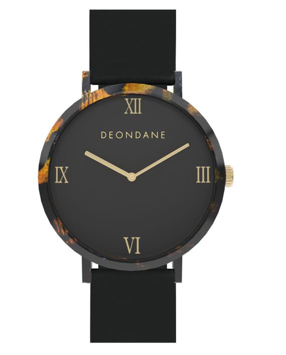 The Turtle Shell Numeral Watch