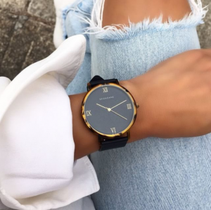 Deon Dane Turtle Shell Numeral watch